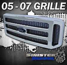 2005-07 Ford CHROME Grill F250 F350 Super Duty Excursion Grille