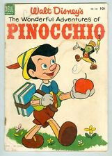 Four Color #545 G 1945 The Wonderful Adventures of Pinocchio