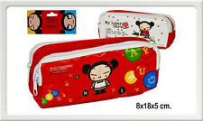 Trousse double tirette Pucca rouge Neuf