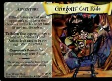 Harry Potter Trading Card Game GRINGOTTS CART RIDE 6/116 Adult Owned Near Mint