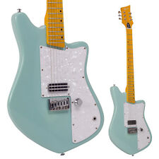 Lindo Rosetta Seafoam Green Electric Guitar and Padded Gig Bag