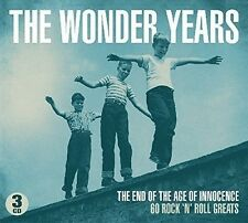 THE WONDER YEARS DIGIPACK EDITION - 60 ROCK'N ROLL GREATS 3 CD NEU