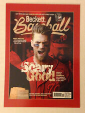 2016 National Convention Beckett Covers 4x6 Promo BRYCE HARPER #/500 Made Legacy