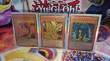 Yu-Gi-Oh! Karten Götter Slifer Obelisk Ra Toon Holo Orica/Costum Style