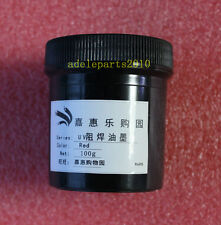 PCB UV Curable Solder Mask Repairing Paint Red 100g New