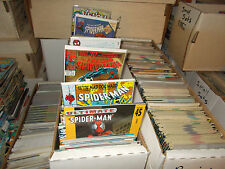 Lot of 50 DIFFERENT ALL Spiderman Comic Book Books Amazing Ultimate Spectacular