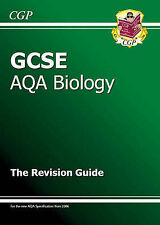 GCSE Biology AQA Revision Guide, CGP Books Paperback Book The Cheap Fast Free