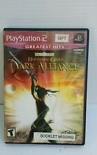ps2 baldur's gate dark alliance forgotten realms