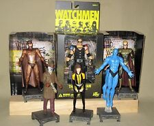 Watchmen Figure Lot Manhattan Silk Night Owl Rorschach Comedian Ozymandias