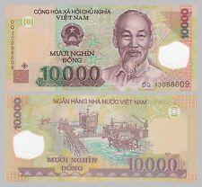 Vietnam 10000 Dong 2013 Polymer p119g unz.