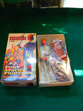1967 Marx Geronimo Action Figure Complete Accessories 1863 Lot #148-6500