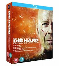 Die Hard Complete Movies 1, 2, 3, 4, 5 Film [6 Discs] Blu Ray Collection Box set