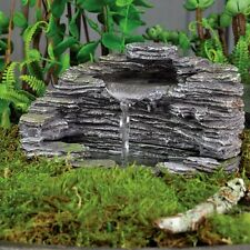 Miniature Waterfall Shale for  Fairy Faery Gnome Hobbit  Garden Fountain