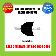 SAAB 9-5 ESTATE (1ST GEN) 2000-2004 FRONT PRE CUT WINDOW TINT KIT