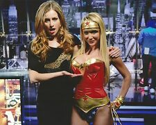 Candace Bailey Sara Jean Underwood Wonder Woman 8x10 Photo Attack of the Show G4