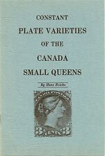 """""""Constant Plate Varieties of the Canada Small Queens"""" by Hans Reiche - UNUSED!"""