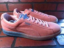 PUMA Pink Dolphin Suede PD Mens Shoe Size 13 NEW 362216-02 Coral Pink Blue