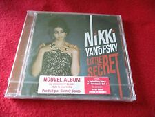 "CD NEUF ""LITTLE SECRET"" Nikki YANOFSKY"
