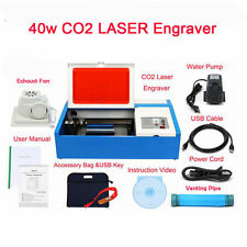 40W CO2 LASER ENGRAVING MACHINE CUTTING ENGRAVER LaserDRAW CorelDRAW