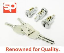 LAND ROVER DEFENDER DOOR LOCK 3 BARREL & KEY SET - MTC6504 - NEW 90 110
