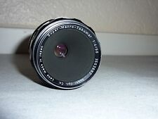 Super Macro Takumar 1:4 50mm, excellent condition, works well, M42 mount