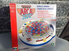 Vintage Arca 2000 Console Animal Sounds Giochi Preziosi Abbina Suoni Animali Nib
