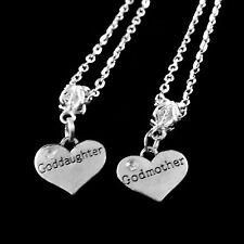 godmother goddaughter necklace set 2 Necklaces godparent goddaughter necklaces