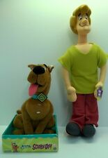 Vintage~Scooby-Doo Dolls with Shaggy Talking Toys~Cartoon Network~NWT~Lot of 2