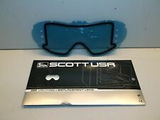 Scott Goggles HIGH VOLTAGE Replacement Lens Thermal AMP BLUE Drilled