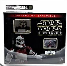 SDCC 2006 Gentle Giant Star Wars Shock Trooper Collector Bust1087/3500 AFA 90