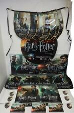 Harry Potter Deathly Hallows Pt. 2 Memorabilia Bundle, Stickers, Posters, Flags