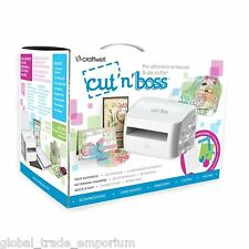 CRAFTWELL 'CUT n BOSS' Automatic Die Cut/Cutting & Embossing Machine A4