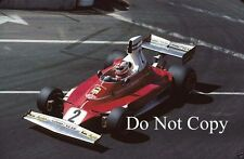Clay Regazzoni Ferrari 312T Long Beach Grand Prix 1976 Photograph 2