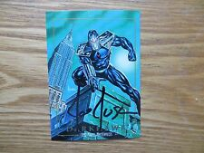 1992 MARVEL MASTERPIECES 1ST SERIES DARKHAWK CARD SIGNED JOE JUSKO ART,  POA