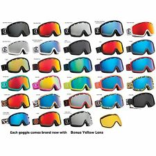 NEW Electric EGB2 mirror lens mens ski snowboard goggles pick color 2014 Ret$150