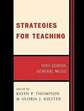 Strategies for Teaching: High School General Music by , Good Book