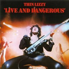 THIN LIZZY ( NEW SEALED CD ) LIVE AND & DANGEROUS ( REMASTERED ) PHIL LYNOTT