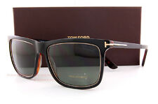 Brand New Tom Ford Sunglasses FT 0392 392 Karlie 01R Black/Green Polarized Men