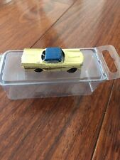 Vintage 1950's America Yellow Blue HO Miniature Japan Gold 1958 Ford Fairlane