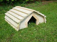 Tortoise House with wooden roof no floor *Designed by Country Rustics*