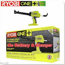 Ryobi P310G 18V Cordless Battery Powered Caulk & Adhesive Gun for P102 P107 P108