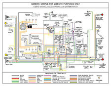 wiring diagrams model 1928 1929 1930 1931 ford model a full color laminated wiring diagram 11