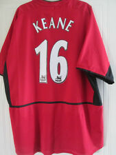 Manchester United domicile 2003-2004 Keane football shirt taille XL / 38098