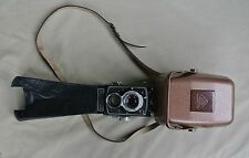 Rolleicord V, with Metal Tropical Case and Extra Long Leather Focusing Hood
