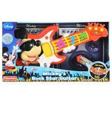 NEW Fisher Price Disney's Mickey Rock Star Guitar Mickeys Mouse Toy Musical