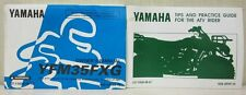 Yamaha YFM35FXG ATV Manual & Tips and Practice Guide for ATV Rider Manual