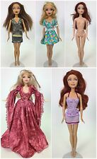 LOT OF 5 MY SCENE DOLLS KENZIE KENNEDY CHELSEA SWAPPIN STYLES MADISON USED