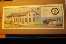 N SCALE BRANCHVILLE STATION   by N SCALE ARCHITECT # 10002