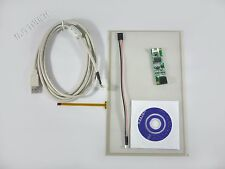 """10.1"""" Film to Film 4 Wire Resistive Touch Panel+USB drive Flexible 235x143mm"""
