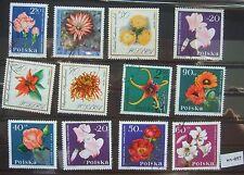 Sellos de correos, Polonia, Polska, 9 fotos